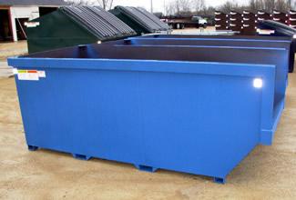Blue Scrap Bin