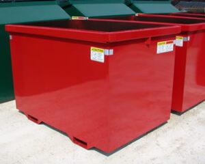 Red Scrap Bin