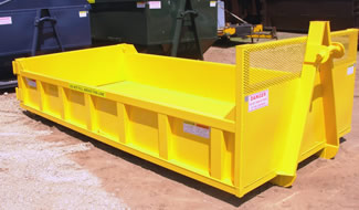 Truck Body Yellow Hook